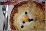 pizza - jak wszystko tutaj - z jajkiem