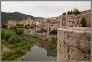 Besalou - widok na miasto