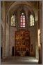 Wnętrze kaplicy św Agaty w Palau Reial