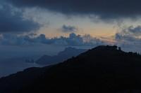 widok z góry na Capri