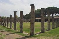 Pompeje - koszry gladiatorów