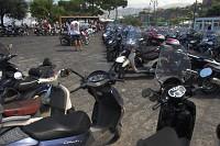 sorrento - parking skuterów