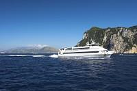 wodolot, identyczny z tym który przywiózł nas na Capri